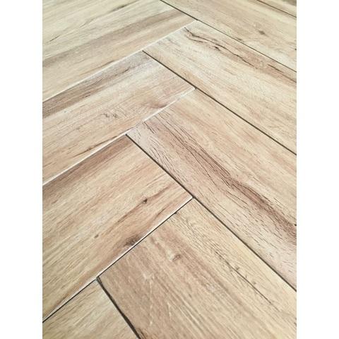 Jabo Real Wood keramisch parket 15x90cm nocciolo (14 stuks)