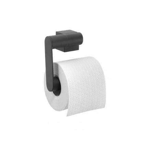 Tiger Nomad toiletrolhouder zonder klep mat zwart