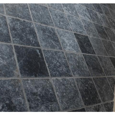 Kerabo Turks hardsteen 10x10 - Antique Blue Anticato