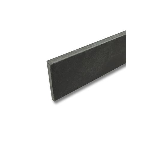 Jabo Mustang Black leisteen plint 6x60cm grey (Per stuk)