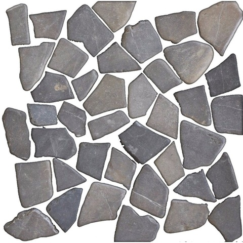 Jabo mozaiektegel 30 x 30 cm marmer scherven grey (per stuk)