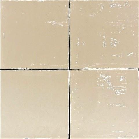 Jabo Oud hollandse Witjes tegel 13x13 cm crema (60 stuks)