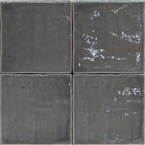 Jabo Oud hollandse Witjes tegel 13x13 cm donker grijs (60 stuks)