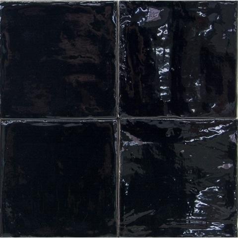Jabo Oud hollandse Witjes tegel 13 x 13 cm zwart (60 stuks)