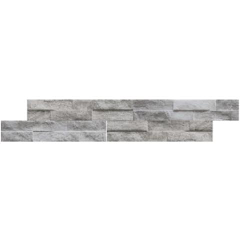 Kerabo Rock steenstrips 7,5x38,5 - Rock Grey