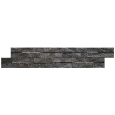 Keradom tegel 38,5x7,5 cm black (26 stuks)