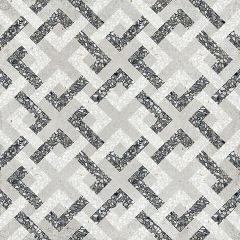 Paul en Co Terrazzo tegel 25x25 cm Casale Borgo grigio (12 stuks)