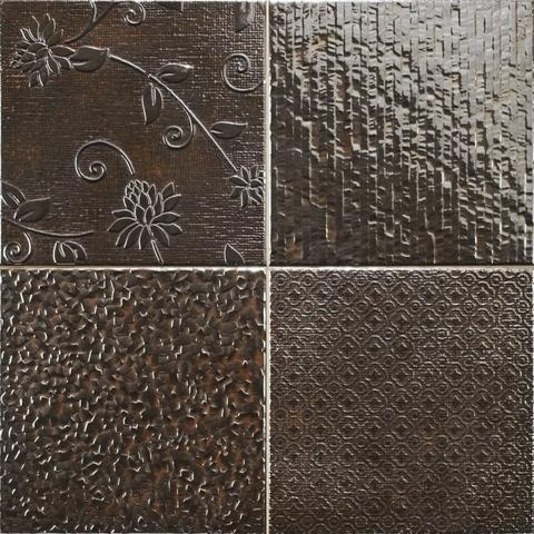 Realonda Glint tegel 42,2x42,2 cm Antracita (7 stuks)