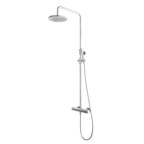 Hotbath SDS 1 Get Together stortdoucheset Buddy/Laddy - chroom - met staafhanddouche - 20cm hoofddouche
