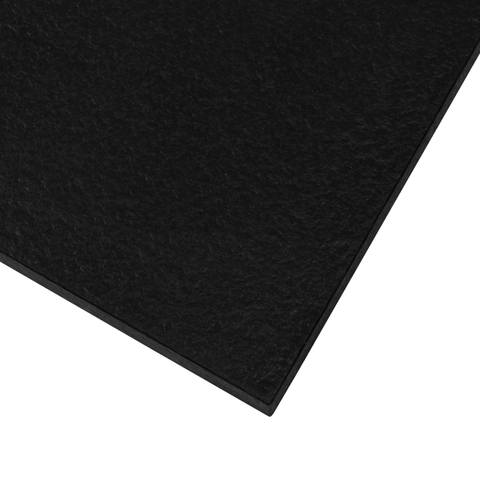 Bewonen Sean douchebak Fine Stone met afdekrooster 120 x 100 cm zwart