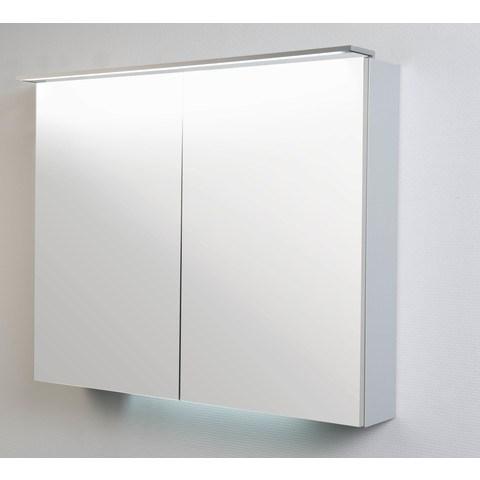 Blinq Tutto verlichtingsbalk 60x1 cm. met led verlichting aluminium