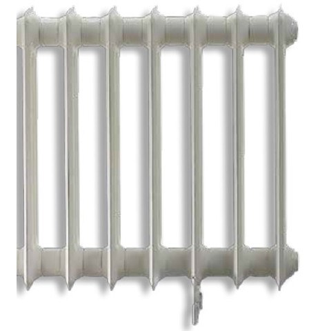 Vasco Vintage 50 radiator 1428x450 mm. n28 as=2367 1624w wit s600
