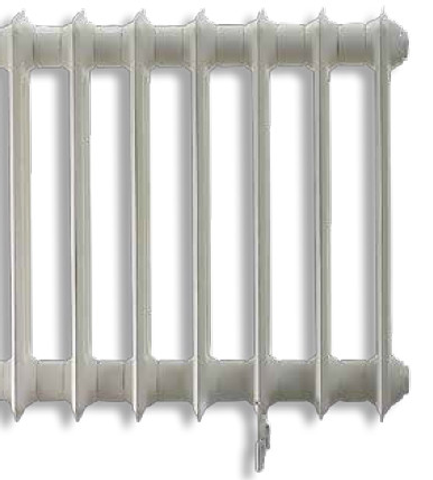 Vasco Vintage 50 radiator 428x1000 mm. n8 as=2367 672w wit s600