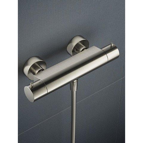 Hotbath Cobber B008 douchethermostaat geborsteld koper PVD