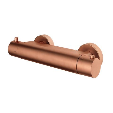 Hotbath Cobber B008 douchethermostaat geborsteld koper