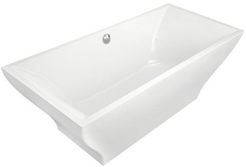 Villeroy & Boch La Belle bad vrijstaand 180 x 80 cm. wit