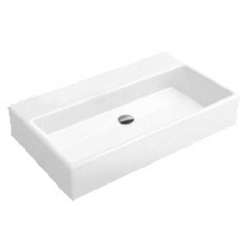 Villeroy & Boch Memento meubelwastafel 80x47cm.ceramicplus zonder kraangat wit