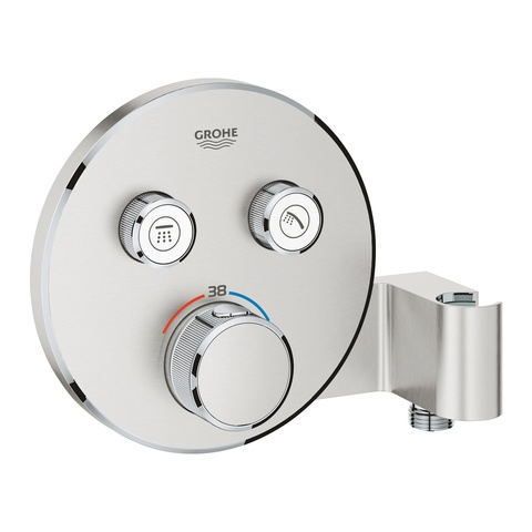 Grohe Grohtherm Smartcontrol afdekset thermostaat supersteel