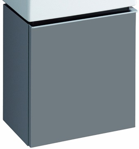 Geberit Icon fonteinonderkast met deur 37cm platina platina