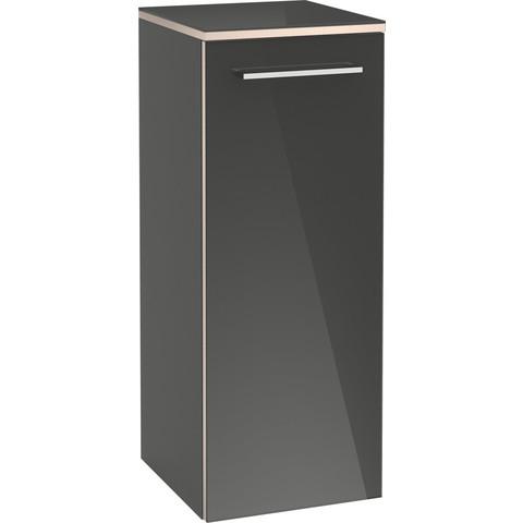 Villeroy & Boch Avento hh kast 350x370x892 deur scharn.rechts 2xplanchet crystal white