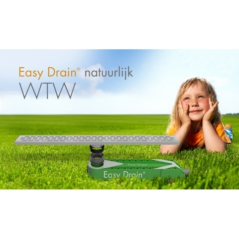 Easydrain Wtw warmteterugwin systeem 65x16cm met sifon