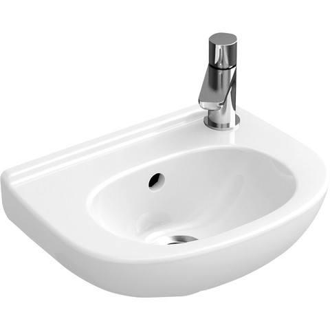 Villeroy & Boch O.novo fontein 36x27.5 cm. z/kr.gat m/overloop ceramic+ wit