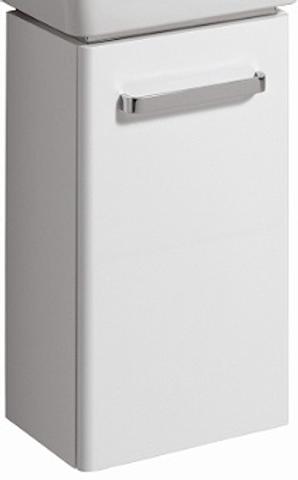 Geberit Renova Compact fonteinonderkast met deur 34,8cm glans wit glans wit