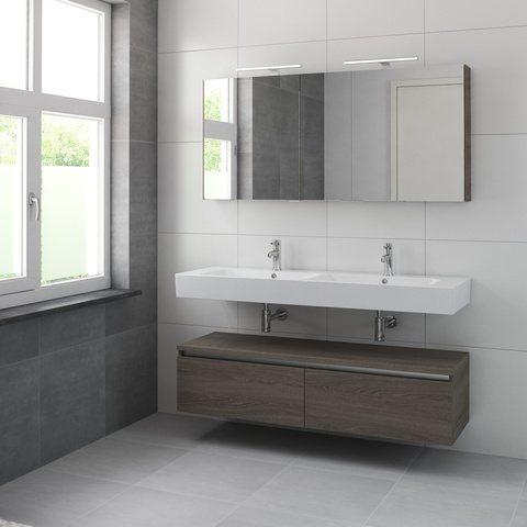 Bruynzeel Mambo meubelset spiegelkast 150cm orlando eiken