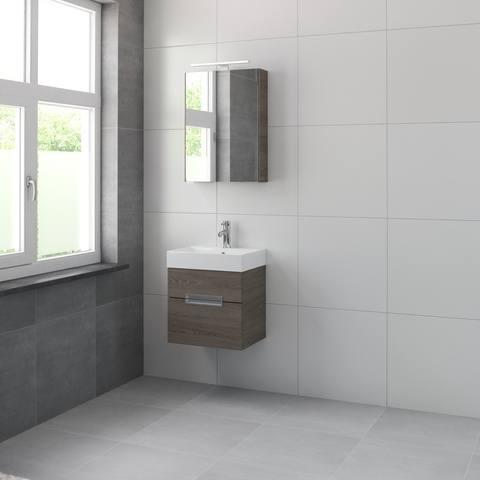 Bruynzeel Mino meubelset spiegelkast 50cm orlando eiken