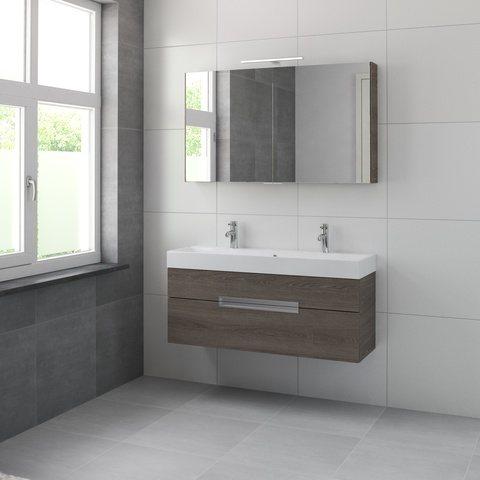 Bruynzeel Mino meubelset spiegelkast 120cm orlando eiken