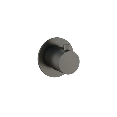 Hotbath Cobber CB010 afbouwdeel stopkraan cold verouderd ijzer