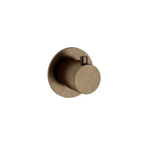 Hotbath Cobber CB010 afbouwdeel stopkraan hot verouderd messing