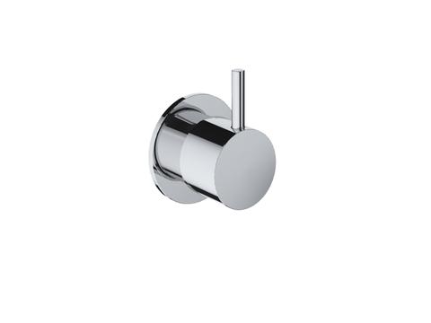 Hotbath Cobber CB010 inbouw stopkraan geborsteld nikkel cold