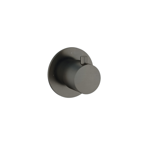 Hotbath Cobber CB010 inbouw stopkraan verouderd ijzer cold