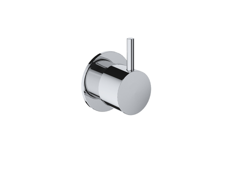 Hotbath Cobber CB010 inbouw stopkraan glans nikkel hot