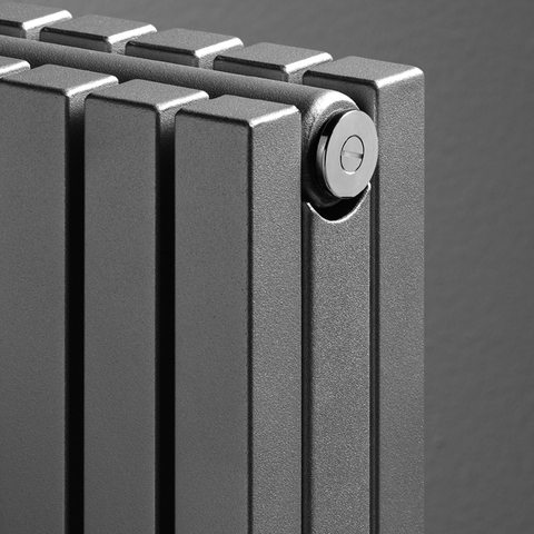 Vasco Carre Cpvn2-Zb radiator 655x2000 mm. n44 as=1188 2813w wit ral 9016