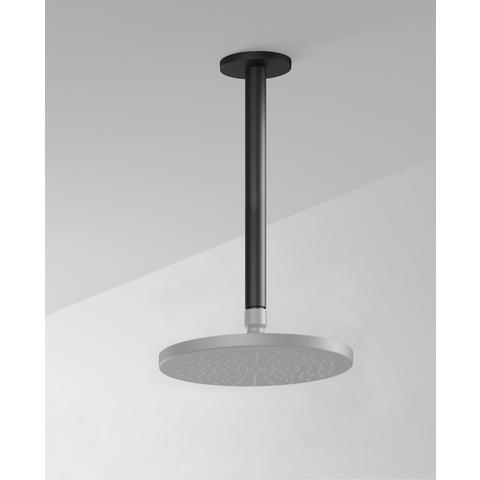 Hotbath Cobber CB453 plafondbuis 30cm mat zwart