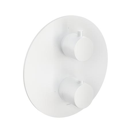 Hotbath Cobber CB009 Inbouwthermostaat met 2-weg omstel mat wit