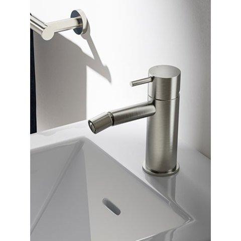 Hotbath Cobber CB018 bidetmengkraan zonder waste geborsteld koper PVD