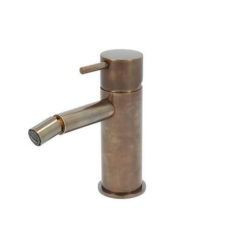 Hotbath Cobber CB018 bidetmengkraan zonder waste verouderd messing