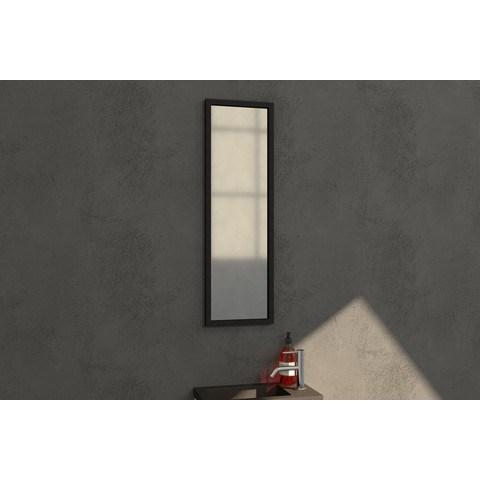 Bewonen Silhouette spiegel met aluminium frame 25x80 cm