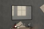 Bewonen Silhouette spiegel met aluminium frame 100x70 cm