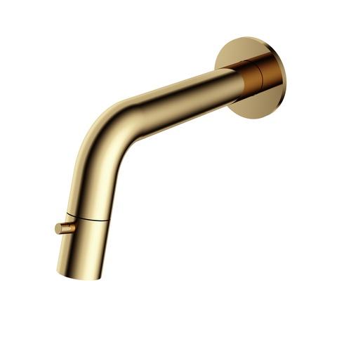 Hotbath Cobber/Dude UW001 wand fonteinkraan gepolijst messing