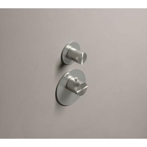 Hotbath Archie ARHF011 afbouwdeel voor inbouw thermostaat met 1 stopkraan RVS