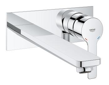 Grohe Lineare inbouw wastafelkraan - 20,7cm - chroom