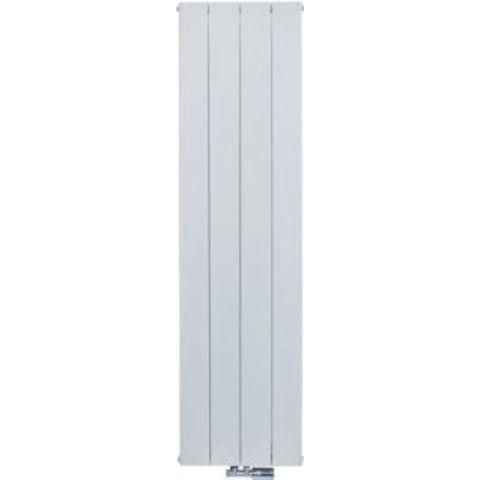 Thermrad AluSoft verticale designradiator 180 x 24 cm (H x L) structuur wit
