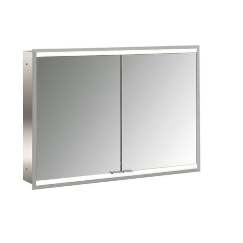 Emco Asis Prime 2 led 100cm spiegelkast inbouw spiegel-aluminium