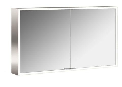 Emco Asis Prime led 120cm spiegelkast opbouw spiegel-aluminium