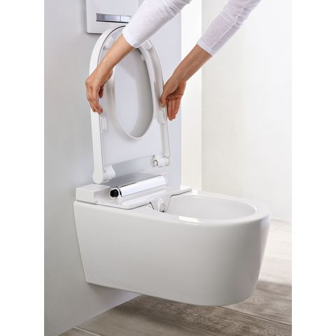 Geberit Aquaclean Sela wandcloset douche wc softclose wit-chroom