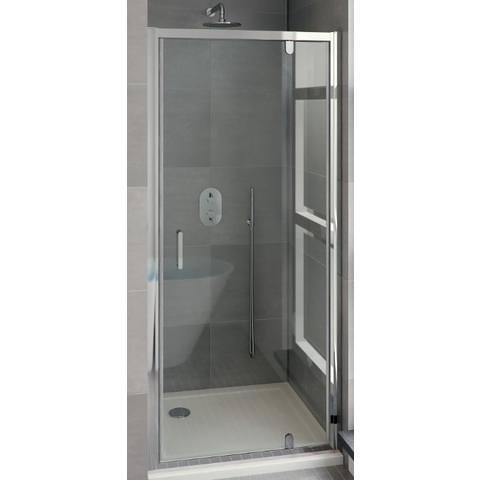 Bruynzeel Cilo draaideur 1-dlg 85 x 195 aluminium/helder clean